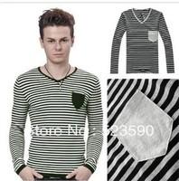 New 2013 Men Brand/Mens Long Sleeve Tshirt/Military Long Sleeve T-shirt  SIZE;M L XL