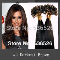 Cheap Peruvian virgin hair 26inch Keratin nail tip remy hair extension lots of  hair Extensions 100g /100strands