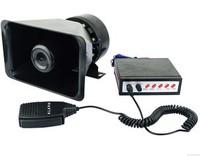 Car alarm car alarm loudspeaker horn 5 100w pa speaker alarm siren megaphone