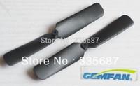 "Mini 3x2"" CW/CCW Plastic ABS Propeller 5 pair/Lot 10pcs for RC Airplane Model Gemfan Brand 3020 3020R Black + Free Shipping"