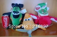 3PCS 35cm USA High Quality Cars Planes Dusty Plush Toys Stuffed & Plush Animals Stuffed Animals & Plush dolls & accessories