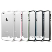 NEW! For iPhone 5S / 5  Neo Hybrid EX Slim Metal Frame Silicone  SPIGN SGP Case