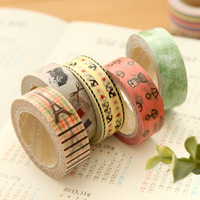 Free shipping! New High Quality Washi  Tape/ Vintage Tower Sweet Lace Flower Adhesive Tape / DIY Sticker Label/Wholesal