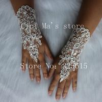 New Fashion Lace Bride Bridal Party Wedding Gloves Free Shipping Ring, bracelet