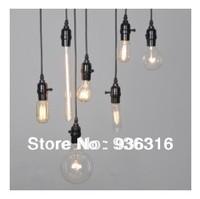 Free shipping E27 40w edison bulb lamp Light bulb pendant light balcony aisle lights nostalgic vintage american style table lamp
