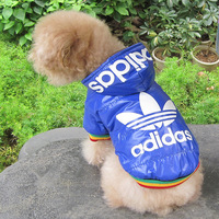 Free Shipping 2013 Best-Seller Blue Dog Snow Suit Fashionable Dog Winter Clothes New Pet Coat H