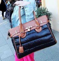 2013 New Arrive  Winter Down bags Women Handbags Shoulder Space Messenger Bags