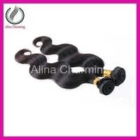 Luxy hair product 2pcs/lot,brazilian virgin hair body wave,big curly virgin hair,can be dye 100% Unprocessed,hot selling hair