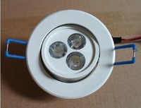 2013 New arrival 3w 5w led downlight white shell lights,Sitting room,bedroom,study room,kitchen lights free shipping
