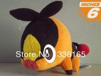 cute anime figure pokemon Tepig plush toy dolls stuffed animal toys 15cm lovely pig doll gift for kid