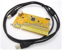 2 player PS/3 PC COIN USB to jamma arcade game, USB  joystick and buttons 28pin IO board to computer, arcade game parts