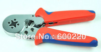 Cable Ferrules Crimper LSC8 6-4A Self-adjusted crimping plier crimping 0.25-6mm2 cable ferrules crimp tool