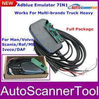 2014 New Truck ADblue Emulator 7-in-1 With Programing Adapter Adblue Emulator 7in1 With Top Quality CNP Free