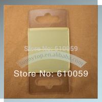 Free shipping hang tab 50x46mm with eurohole, 500pcs/lot