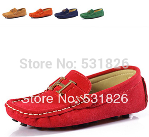 The new 2014 children casual shoes / Peas shoes kids / boys and girls summer breathable flat shoes free shipping size 25-35(China (Mainland))