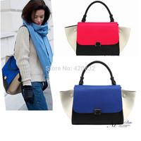 Trapeze bag handbag women bags fashion 2014 designers satchel ears bag shoulder message bag totes women trapez bag Best-selling