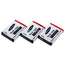 Accessories & Parts!Digital boy 3Pcs 3.7v 1050mAh SLB-10A SLB10A Camera Battery for Samsung L100 L110 L210 IT100 WB500 PL65 New