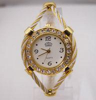 New Arrival fabulous brand High Quality shining crystal rhinestone Bracelet watch Women dress Quartz Wrist Watch GUS-5