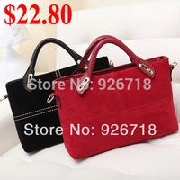 New 2014 Handbags Vintage Classic  Leather Women Handbag Red Totes Women Messenger Bags Shoulder Bag 78020