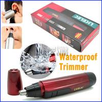women men's electric nose hair trimmer washing vibrissa device Nose & Ear Trimmer hairclppers hair clipper cutting machine beard