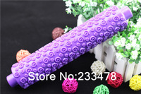 Free Shipping 2013 NEW Knurling Spiral Pattern Rolling pin Cake Decoration,sugar craft Fondant mold,embossing rolling pin