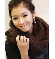 BestSelling Winter Thickening Solid Scarf For Girls, Woman Ring Scarf Shawl, Fashion big muffler scarf yarn Lovers