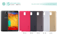 HK Post free ship Nillkin Super Frosted Shield Hard Case For Samsung N9000 GALAXY Note 3 Retail Box and screen protector
