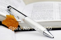 free shipping  Crystal pen clip   AAA Crystal  Promotion Pen Ballpoint ball pen with 200 piece  AAA  grade crystal