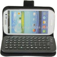 Fashion Bluetooth Keyboard  for Samsung Galaxy S3 i9300