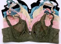 lace bra ULTRA-THIN push up adjustable underwear plus size big small bra B/C/D