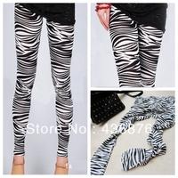 Blackmilk Zebra Print Leggings Cheap Fashion Women 2013 Autumn Winter