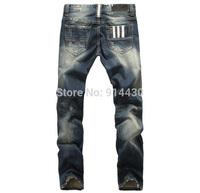 Men Jeans Fashion Men's Jeans Pant High Quality Man Casual Straight Cotton Denim Jeans Size 28-40