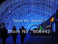 Hot Sale 3Pcs/Lot Blue Christmas Holiday Wedding Party 180 LED Curtain Fairy Lights Decorative Lighting Twinkle EU TK1103