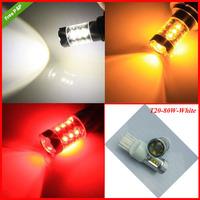 Free Shipping 2pcs/lot 1156 1157 T20 T25 9005 H8 H4  80W H7 High Power  cree Led Car Turn Signal Tail Brake Lights Bulbs