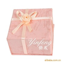 Free Shipping tights Min.order is $8 (mix order) Conventional ring box packaging boxes Christmas gift