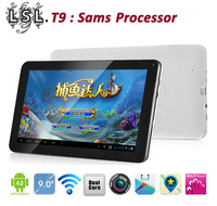 2013 New model T13 with Sams Processor upgrades T9 dual core 10 android 4.0 9 inch tablet pc 16G wifi screen