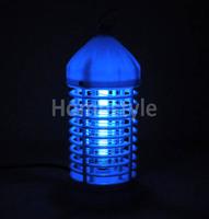 New 220V Electronic Photocatalyst Trap Lamp Flying Insect Pest Mosquito Gnat Bug Moth Killer Lamp EU Plug TK1034
