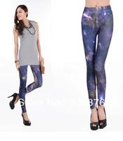 Blackmilk Print Space Cheap Fashion Leggings For Women 2013 Autumn Winter Free Shipping