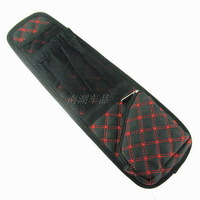 Car chair skirt-pocket vehicle glove bags claretred car chair multifunctional storage bags auto upholstery supplies