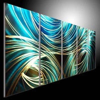 sculpture metal painting art abstact painting oil painting creative gift  wall art  art-mall