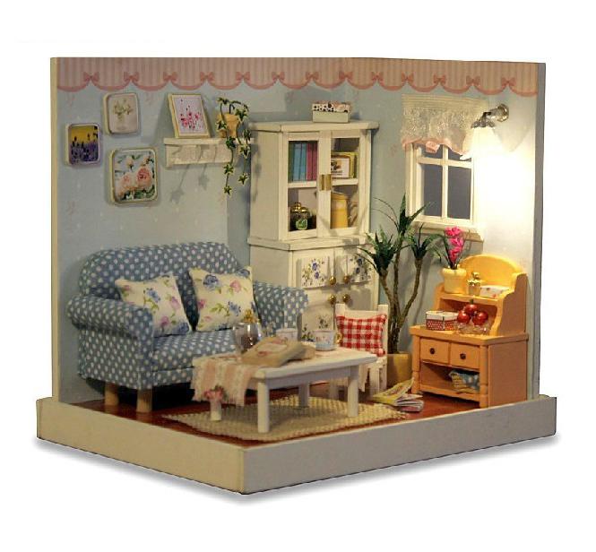 Внутренняя отделка кукольного домика