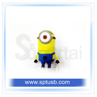 newest despicable me minion usb pendrive 8 gb free shipping.