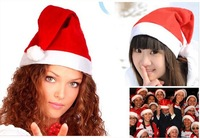 Free Shipping! New Arrival!!! Christmas Santa Hat/SANTA CLAUS CAP with Soft and comfortable