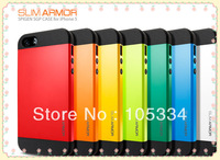New Arrival! Hard Back Cover Luxury TPU Plastic Case SLIM ARMOR SPIGEN SGP Case For iphone 4 4s 4G