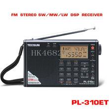 FM AM LW SW DSP World Band Gift Mini Radio BlRadio PL310-ET newbrand Tecsun PL-310 LW Digital Demodulation Stereo Portable Radio