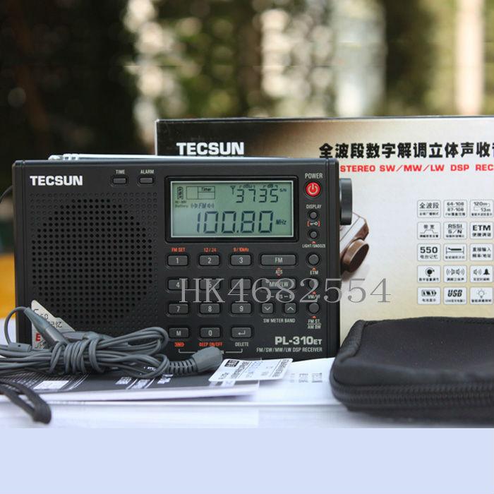 FM AM LW SW DSP World Band Gift Mini Radio BlRadio PL310 ET newbrand Tecsun PL