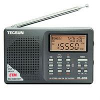 Tecsun PL-606 Digital PLL Portable Radio FM Stereo/LW/SW/MW DSP Receiver Nice Gift Free shipping