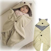 baby parisarc blanket Infant hoodie Swaddle Swaddling fleece sleeping bag cart stroller sack Newborn autumn winter Sleepsacks(China (Mainland))