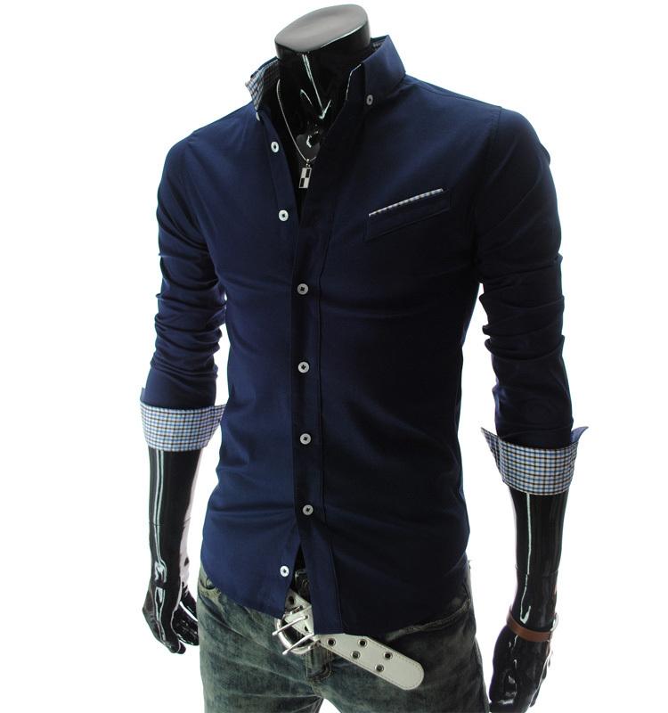 new style cool s shirts classic slim fashion