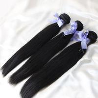 "Straight Malaysian Virgin Hair Free Shipping Natural Color Cheap Human Hair Products 100g/pc 18"" 20"" 22"" 24"" 26"" 28"" All Stock"